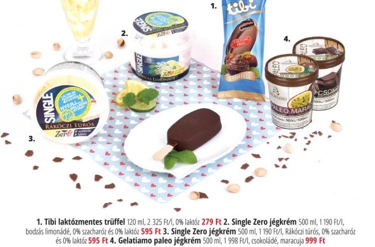 laktózmentes fagylaltok