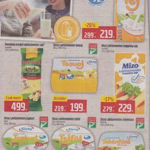 Laktózmentes termékek akciói 2017 június